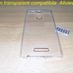 Husa silicon transparent compatibila Allview X3 soul style - Husa Telefon