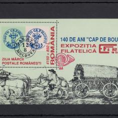 ROMANIA 1998 LP 1461a ZIUA MARCII POSTALE COL. DANT. STAMP. SPEC. GOARNA MNH - Timbre Romania, Nestampilat