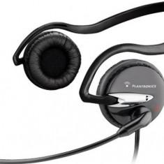 Casti Plantronics Audio 345, Casti On Ear, Cu fir, Mufa 3, 5mm, Active Noise Cancelling