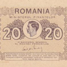 Bancnota Romania 20 Lei 1945 - P76 UNC - Bancnota romaneasca
