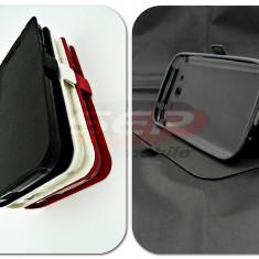 Toc FlipCover Stand Magnet Allview A6 DUO / C6 DUO NEGRU - Husa Telefon
