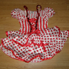 Costum carnaval serbare rochie dans balet pentru copii de 6-7 ani - Costum Halloween, Marime: Masura unica, Culoare: Din imagine
