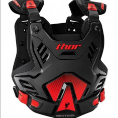 MXE Protectie corp Thor Santinel Negru/Rosu Cod Produs: 27010752PE - Protectii moto