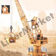 Macara de jucarie cu telecomanda Tower Crane XM-6820 - Vehicul