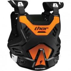 MXE Protectie corp Thor Santinel Negru/Portocaliu Fluorescent Cod Produs: 27010754PE - Protectii moto