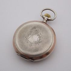 R - Ceas de buzunar Omega din argint 800, 93.04 grame - Ceas de buzunar vechi