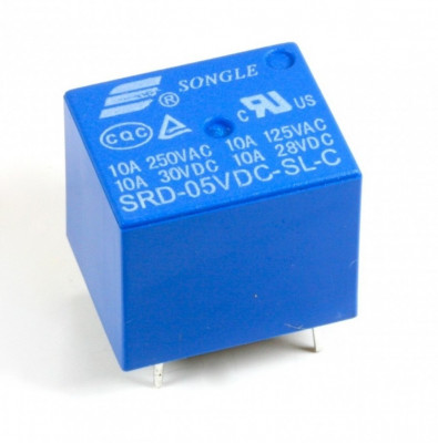 Modul releu 5V Arduino / relay, canal (RE10) foto