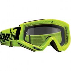 MXE Ochelari cross Thor Conquer Verde Fluorescent/Negru Cod Produs: 26012089PE - Ochelari moto