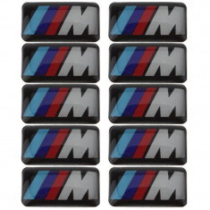 STICKER M POWER 10X18MM logo emblema