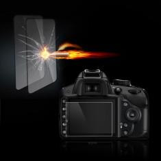 Folie sticla securizata Tempered Glass ptr. Nikon D3400/D3300/3200/3100 - Accesoriu Protectie Foto