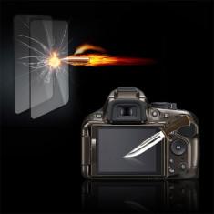 Folie sticla securizata Tempered Glass ptr. Nikon D5100/5200 - Accesoriu Protectie Foto