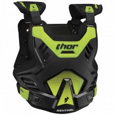 MXE Protectie corp Thor Santinel Negru/Verde Fluorescent Cod Produs: 27010756PE - Protectii moto