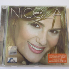 CD BEST OF NICOLA, CAT MUSIC 2003 - Muzica Pop