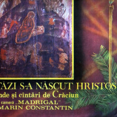 Madrigal : Astăzi s-a născut Hristos - Colinde şi cântări de Crăciun LP vinil