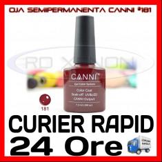OJA SEMIPERMANENTA (PERMANENTA) #181 CANNI - MANICHIURA UV, Piersica