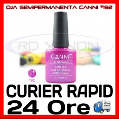 OJA SEMIPERMANENTA (PERMANENTA) #192 CANNI - MANICHIURA UV, Piersica