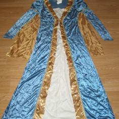Costum carnaval serbare printesa pentru adulti marime M - Costum Halloween, Marime: Masura unica, Culoare: Din imagine