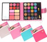 Trusa Machiaj 32 culori cu ruj, blush, pudra si concealer 5D Eyes Effect