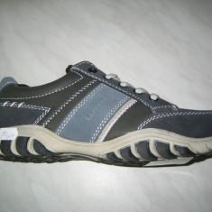 Pantofi barbati WINK;cod LY4701-2;marime:41-45 - Pantof barbat Wink, Marime: 44, 46, Culoare: Albastru, Piele sintetica