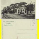 Falticeni ( Suceava, Bucovina )-Strada Mare - rara - Carte Postala Bucovina 1904-1918, Necirculata, Printata