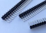 Bareta pini 2.54mm in unghi drept / 1x40 pin header Arduino (v.585)