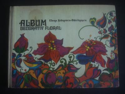 ELENA STANESCU BATRANESCU - ALBUM DECORATIV FLORAL foto