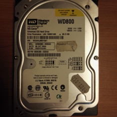 HDD PC Western Digital 80Gb IDE - Hard Disk Western Digital, 40-99 GB, Rotatii: 7200