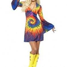 Costum dama Hippie, mar M, Smiffys - Costum carnaval