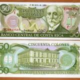 !!!  COSTA  RICA  -  50  COLONES   07.VII.1993  -  P 257  - UNC