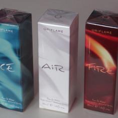 Set Ice, Air, Fire - pentru femei - produs NOU original ORIFLAME - Set parfum