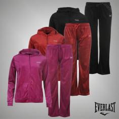Nou! Trening Dama Pantaloni + Bluza Everlast original - marimea XS S M L, Culoare: Mov, Negru, Rosu