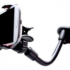 Suport universal cu ventuza parbriz auto telefon / tableta / GPS - Suport auto