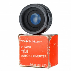 M42 2x teleconvertor Weltblick Germany pentru 135mm 50mm Nikon Canon - Teleconvertor Obiectiv Foto