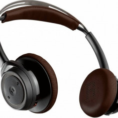 Casti Bluetooth Plantronics BackBeat SENSE, Black, Casti On Ear, Active Noise Cancelling