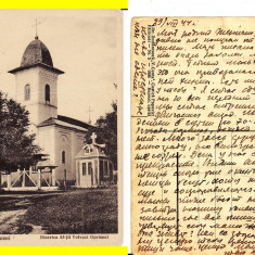 Falticeni ( Suceava, Bucovina )- Biserica Opriseni-rara - Carte Postala Bucovina 1904-1918, Circulata, Printata