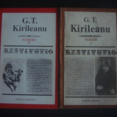 G. T. KIRILEANU - SCRIERI 2 volume * SERIA RESTITUTIO
