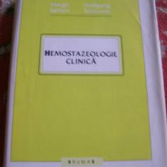 HEMOSTAZEOLOGIE CLINICA MARGIT SERBAN WOLFGANG SCHRAMM
