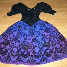 Costum carnaval serbare rochie regala pentru adulti marime S - Costum Halloween, Marime: Masura unica, Culoare: Din imagine