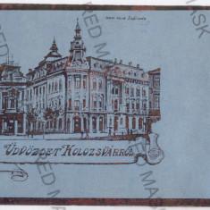 153 - CLUJ - old postcard - unused - Carte Postala Transilvania 1904-1918, Necirculata, Printata