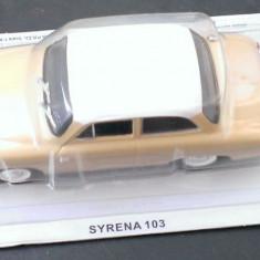 Macheta metal DeAgostini - Syrena 103 - Masini de Legenda Polonia - noua - Macheta auto, 1:43