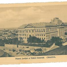261 - Dolj, CRAIOVA, Justice Palace - old postcard - used - 1914 - Carte Postala Oltenia 1904-1918, Circulata, Printata