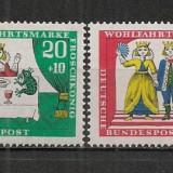 Germania.1966 Povesti de fratii Grimm SG.280 - Timbre straine, Nestampilat