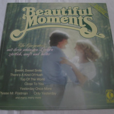 Carpenters ‎– Beautiful Moments _ vinyl(LP, compilatie) Germania - Muzica Pop Altele, VINIL