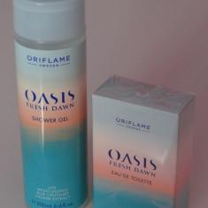 Set Oasis Fresh Down - pentru femei - produs NOU original ORIFLAME - Set parfum