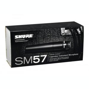 NOU! MICROFON PROFESIONAL CARDIOID SHURE SM57 PT.VOCE SI INSTRUMENTE+ACCESORII.
