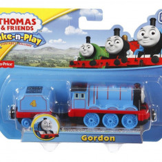 Thomas Tank Engine Take-N-Play Fisher Price trenulet magnet jucarie - GORDON, Locomotive