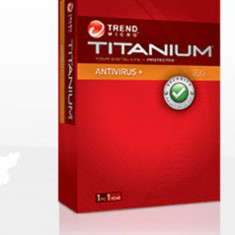 Licenta anti-virus Trend Micro Titanium internet Security