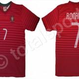 Tricou NIKE PORTUGALIA RONALDO 7 - Tricou barbati Nike, Marime: L, XL, Culoare: Rosu, Maneca scurta, Poliester
