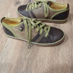 Pantofi /Tenisi dama TIMBERLAND Earth Keepers originali noi piele Sz 37 ! - Pantof dama Timberland, Culoare: Coniac, Piele naturala