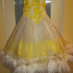 Costum carnaval serbare rochie dans unicat pentru adulti - Costum Halloween, Marime: Masura unica, Culoare: Din imagine